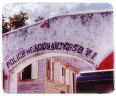 Police HQ (podolux) Tags: 1970 tortola bvi britishvirginislands scannedslide postprocessing
