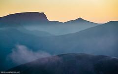 Shades Of Blue (RobGrahamPhotography) Tags: morning blue mountain mountains sunrise canon landscape scotland landscapes highlands britain outdoor shades bennevis glencoe munro aonacheagach cmdarete ambodach canon6d