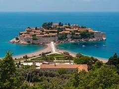 Sv. Stefan, Budva (Senol Demir) Tags: deniz montenegro eeecotourism ngc concordians svstefan ststefan karada adriatic adriyatik sea island budva