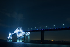 DSC04478 (Zengame) Tags: bridge japan architecture night zeiss tokyo sony illumination landmark illuminated cc jp creativecommons    distagon     wakasu   a6300  tokyogatebridge   distagontfe35mmf14za fe35mmf14 6300 distagonfe35mmf14