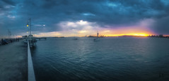 Longbeach rules (caBzPeru) Tags: ocean california sunset sea sky naturaleza sun color sol nature clouds landscape atardecer mar us losangeles peace playa paisaje longbeach cielo nubes pacifico horizonte oceano estadosunidos iphone