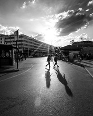long shadows at the sunset #blackandwhitephotography #piazzaleroma #venezia #ombre #flare #controluce #blackandwhite #biancoenero #evening #blancetnoir (acid_nam) Tags: sunset tramonto sera blancetnoir blackandwhite biancoenero venice venise venezia piazzaleroma shadows ombre controluce flare instagramapp square squareformat