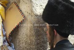 PESC_121005_9136 (Custody of the Holy Land - Photo Service (CPS)) Tags: holyland holysite jerusalem jew jewishquarter kotel pescali piergiorgiopescali qotel templemount terrasanta terresainte wailingwall westernwall holyplace judaism orthodoxjew people shtreimel temple