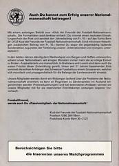 Switzerland vs England - 1981 - Page 54 (The Sky Strikers) Tags: world england cup st schweiz switzerland official basel 150 jakob fr programme offizielles programm qualifier fussballstadion