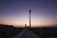 The way (gezenvizor-no graphics in your comments) Tags: light sunset lighthouse hope future windturbine bozcaada cleanenergy thewaytakesyoutoanicesunsetinbozcaada