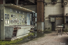 Paperfactory H. (Maestro-Photography) Tags: plant abandoned canon paper ruins factory control decay room exploring industy places ruine fabric forgotten urbanexploration 5d industrie deserted hdr decayed fabriek urbex mk3 mark3 verval verlaten leegstaand 5dmk3 5dmark3
