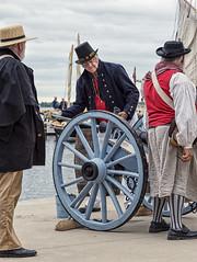 Gunboat Weekend, Bath Ontario, Explored 13/06/2016 (I saw_that) Tags: color gun naval warof1812 1812 efex uc7