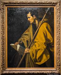 DSC8428 Diego Velzquez - El Apstol Santo Toms, hacia 1620, Museo de Bellas Artes de Orlans (ramonmunoz_arte) Tags: de orleans muse des museo artes francia bellas beauxarts