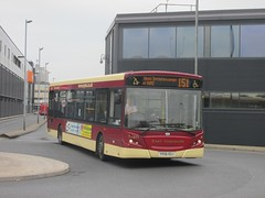 East Yorkshire 271 YX56DZJ Hull Interchange on 151 (1280x960) (dearingbuspix) Tags: eastyorkshire 271 eyms yx56dzj