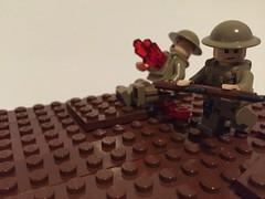 No Mans Land (Praetorian Guard (going to WWB 2017)) Tags: one 1 wwi worldwarone battlefield protos smle brickarms overmolds