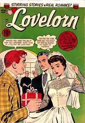 Lovelorn 45 (Michael Vance1) Tags: art artist anthology woman romance relationships love lovers man marriage dating comics comicbooks cartoonist