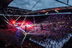 Coldplay live in Wembley 2016 ( www.ethanleephoto.com) Tags: world life uk travel light musician london night lens prime nikon tour coldplay bokeh stadium live band shift snap experience british 24mm nikkor tilt wembley tiltshift pce d610 ahfod coldplaywembley