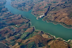 Cadastre 301 (Luc Marc) Tags: green river culture istanbul vert turquie agriculture fleuve cadastre moyenorient vuedesairs paysageagricole