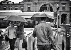 walking in the rain (Thomas8047) Tags: street city people urban bw blancoynegro monochrome rain umbrella schweiz switzerland nikon candid zurich streetlife streetphoto zrich regen ch bahnhofstrasse onthestreets regenwetter 2016 blackandwithe passanten schwarzundweiss stadtzrich regenschauer streetpix d300s streetartstreetlife iamnikon snapseed thomas8047 strassencene zrigrafien zrichstreets hofmanntmecom
