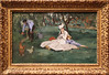 Edouard Manet - The Monet Family in their Garden at Argenteuil 1874 (ahisgett) Tags: new york art museum met metropolitian