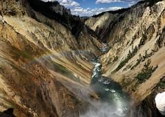 Yellowstone (snowpeak) Tags: rainbow yellowstonenationalpark wyoming sonyrx10iii