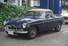 BCCM16018b (tanayan) Tags: park b classic car nikon automobile meeting mg nagoya british j1    tsuruma