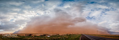 Haboob Lubbock Texas (Chris Frailey) Tags: panorama weather sandstorm duststorm stormchasing haboob