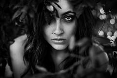 Animal instinct (la_cla25) Tags: portrait blackandwhite beautiful beauty eyes occhi ritratto biancoenero instinct instinto