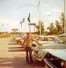 Gosta 1977 (Michael Erhardsson) Tags: cars car analog volvo fiat ab bil 1977 mack pv fotografi gsta fotoalbum hallsberg erhardsson bilfirma arthurssons