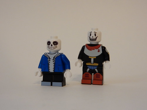 Undertale Sans and Papyrus (Machine Printed) - a photo on Flickriver