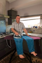 Ironing Me 1 (Glesgaloon) Tags: silly photoshop fun daft confusion ironing selfie