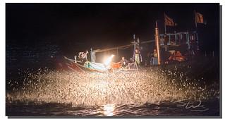Taiwanese ancient fishing tradition, 金山磺火, Taiwan