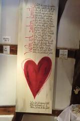 Wenn ich zaubern knnte (Renate Karle) Tags: text herz zeit kalligraphie