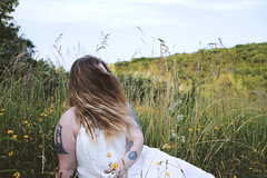 I'm like the wind (brookeleonephotos) Tags: sunset summer art love field grass model wind wildflowers boho flowes summerphotography
