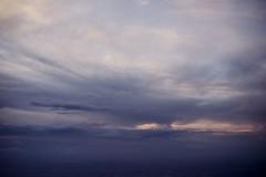 (Esther'90) Tags: uk sunset summer england sky london nature clouds airplane landscape natural britain air united great over kingdom naturallight landing gb british summertime birdseyeview britishlandscape