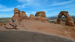 Selfie Opportunity (Corvus tristis) Tags: nature outdoors nps moabut archesnationalpark nationalparks