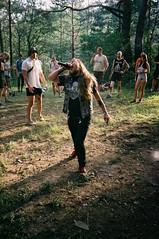 zombie attack. offside2016. btsff festival. (Yaroslav F.) Tags: camera festival metal analog trash forest 35mm diy punk mju zombie attack olympus fujifilm kiev kyiv reportage crossover grob yaroslav btsff
