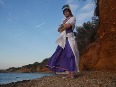 Shooting Sinbad - Magi, the Labyrinth of Magic - Giens - 2016-06-03- P1410805 (styeb) Tags: shooting sinbad magithelabyrinthofmagic giens presquile 2016 juin 03 mer tombee nuit madrague reserve naturelle