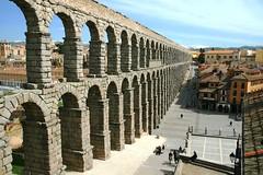 Marvel of Segovia (Lumenoid) Tags: romanaqueduct segovia spain engineering 1stcenturyad