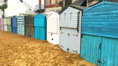 Huts - alternative crop (Speckled Jim) Tags: beach coast kent huts broadstairs