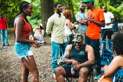 Felton's 35th Birthday BBQ (Chaunna Michole) Tags: birthday park new york people brown black kids brooklyn canon bbq chillin barbecue felton 35 prospect lightroom 6d chaunna michole