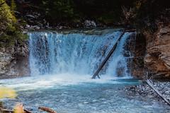 MH5_9228 (memories by Mark) Tags: rockies waterfall alberta banff rockymountains banffnationalpark johnstoncanyon