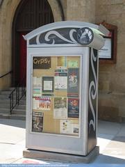 Madison Info Display (TheTransitCamera) Tags: info information street bulletin board display city madison wi wisconsin usa