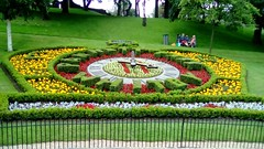 Pannett Park floral clock (Martellotower) Tags: pannett park floral clock whitby north yorkshire