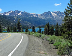 Road to June Lake, Sierra Nevada, CA 2016 (inkknife_2000 (6.5 million views +)) Tags: california usa snow mountains forest landscapes mountainlake junelake scenicdrive easternsierranevada mountainroads snowonmountains carsonmountain dgrahamphoto