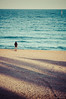 Distancia (SantiMB.Photos) Tags: barcelona sea españa beach girl mar xprocess sand chica searchthebest playa arena photowalk cataluña holidaysvacanzeurlaub sal18250 familiafotera