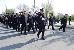 9th District, Marching (artistmac) Tags: morning blue sabrina chicago breakfast joseph drive illinois al king martin police tony il pizza solidarity commander gorman soldierfield connies chicagopolice mejia garza may5 wools 2013 9thdistrict loughney stjudesmarch