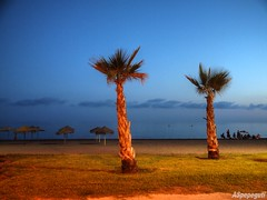 Anochece en la Playa de Rincn (ASpepeguti) Tags: espaa andaluca spain olympus andalucia costadelsol andalusia malaga mlaga alandalus rincndelavictoria axarqua zd1454mm e620 aspepeguti photomatixpro414 satorgettymomentos
