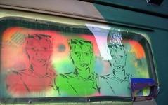 2004 KATE (Assi-one) Tags: street italy streetart colors torino graffiti stencil colombia italia walls graff tetas stencilart parigi schablonen callejero mascherina bombolette