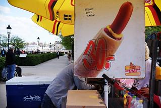 Stockholm, Hot Dog Man
