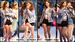 Yoona - Akaraka 2013 - Yonsei Univ (Christopher.Arnaud) Tags: wallpaper girl canon concert model asia university south dancer korea seoul singer generation yonsei akaraka yoona