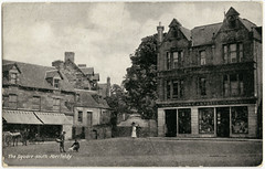 The Square, Aberfeldy (P&KC Archive) Tags: building tourism fashion sport architecture scotland 19thcentury perthshire scene recreation roads royalty aberfeldy spectacle perthandkinross