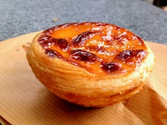 An egg tarte from lord Stow's Bakery @ Coloane (Fuyuhiko) Tags: from egg an bakery macau load tarte  coloane     stows
