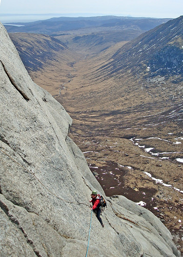 West Flank Route on Cir Mhor, Isle of Arran