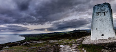 142 of 365 - Nightwatch (fearghal breathnach) Tags: sea night clouds view ngc greystones vista hdr trigpoint panoramawicklow